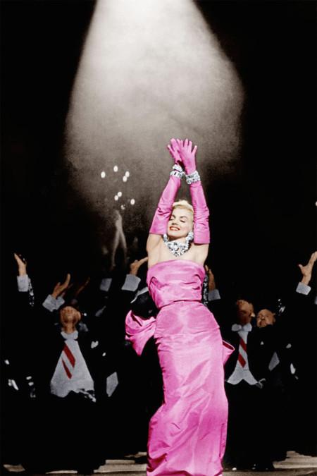 Marilyn Monroe en Los caballeros las prefieren rubias