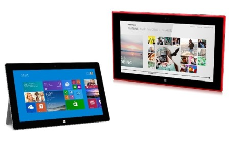 Nokia Lumia 2520 vs Microsoft Surface 2, guerra de tablets tope de gama Windows RT
