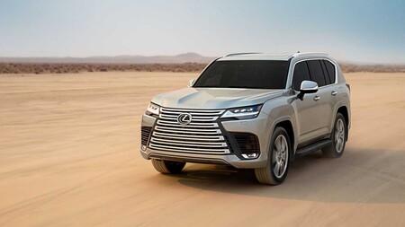 Lexus LX 600 2022: el elegante e imponente SUV japonés con altas posibilidades de llegar a nuestro país
