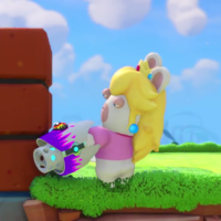 Mario + Rabbids Kingdom Battle: Rabbid Peach, la diva especialista en defensa, protagoniza su propio tráiler [GC 2017]