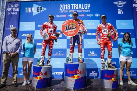 Podio Trialgp Portugal 2018