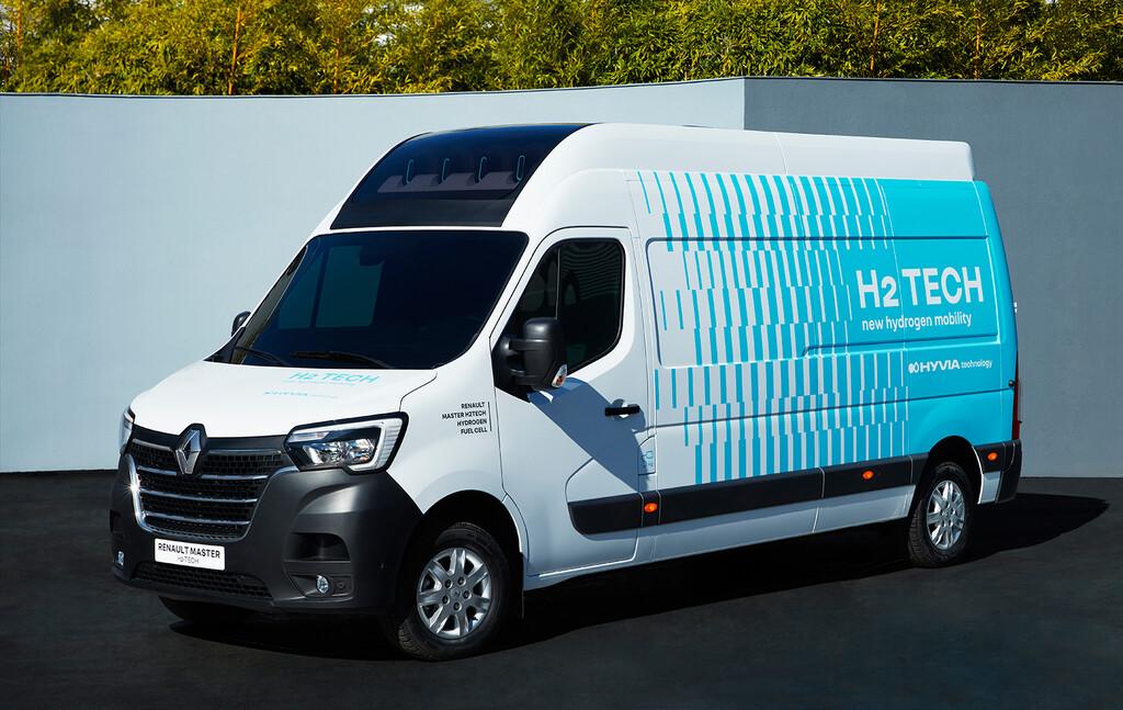 Renault ya tiene lista su primera furgoneta de hidrogeno: promete 500 km de autonomía y se lanzará en 2022