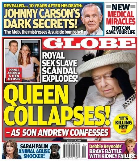 ¡Que le da un pampurrio a la reina!