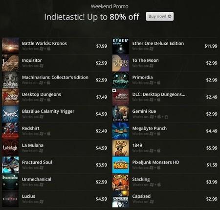 Mucho indie fantástico entre las ofertas del fin de semana en GOG