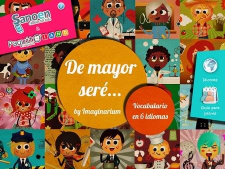 """Imaginarium y Sanoen lanzan la aplicación """"De mayor seré... by Imaginarium"""""""
