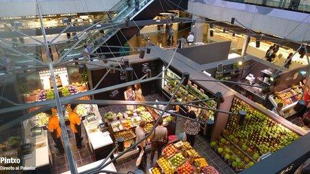 Primera planta del Mercado de San Antón