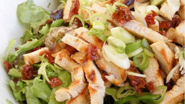 ensalada proteínas