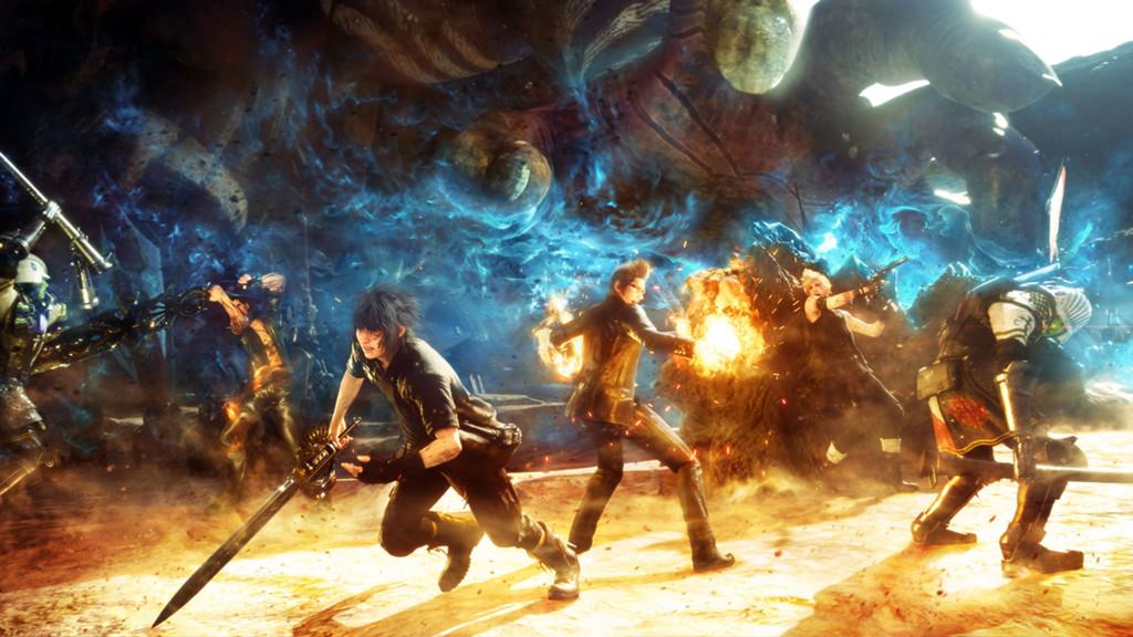 Final Fantasy Xv Cabecera