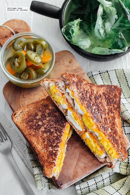 Sandwich Huevo Queso