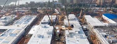 El hospital de Wuhan ya está inaugurado: así ha levantado China un hospital de 25.000 m2 en 10 días