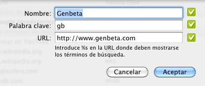 chrome keyword prefijo buscar