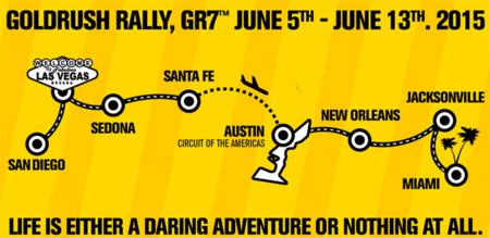 GoldRush Rally 7: de San Diego a Miami en ocho días con un pelotón de superdeportivos