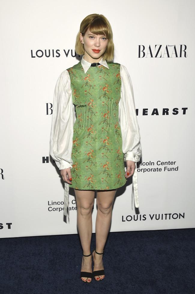 louis vuitton gala alfombra roja Lea Seydoux