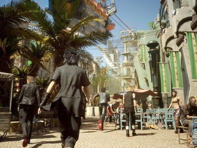 Así se ve Final Fantasy XV funcionando a 1080p/60fps en PS4 Pro; el parche 1.05 ya está disponible
