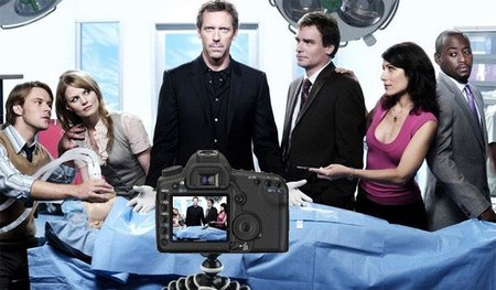 El último episodio de House, grabado con una Canon 5D Mark II