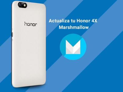 Honor 4X recibe actualización a Android 6.0 en México