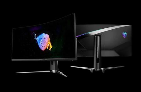 MSI ARTYMIS 343CQR: curvatura extrema 1000R para un monitor gaming panorámico que integra micrófono con cancelación de ruido