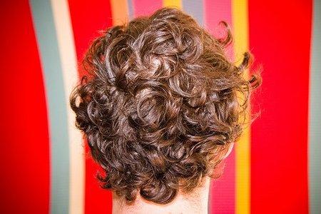 Cortes de pelo para hombre 2009: pelo rizado