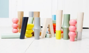 Prettypegs, patas de colores para dar un toque alegre a los muebles de IKEA