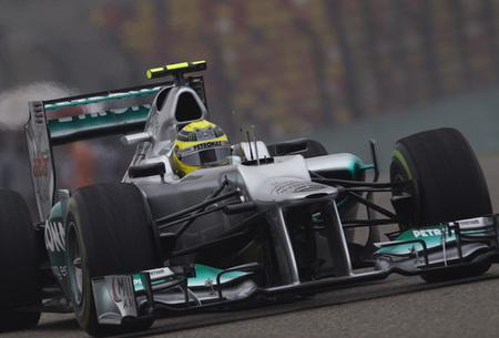 Un imperial Nico Rosberg consigue la victoria en el Gran Premio de China