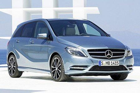Así es el frontal del Mercedes-Benz Clase B 2012