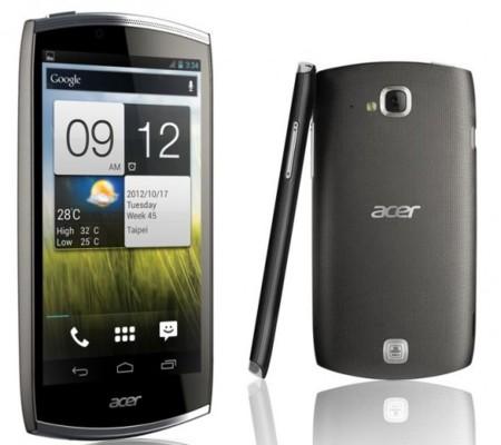 Acer CloudMobile, un nuevo móvil con Ice Cream Sandwich