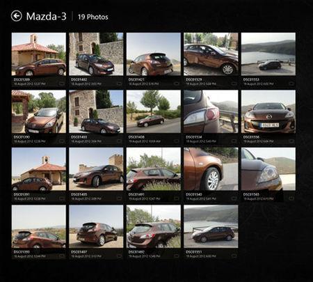 Organización de imágenes en Gallery HD