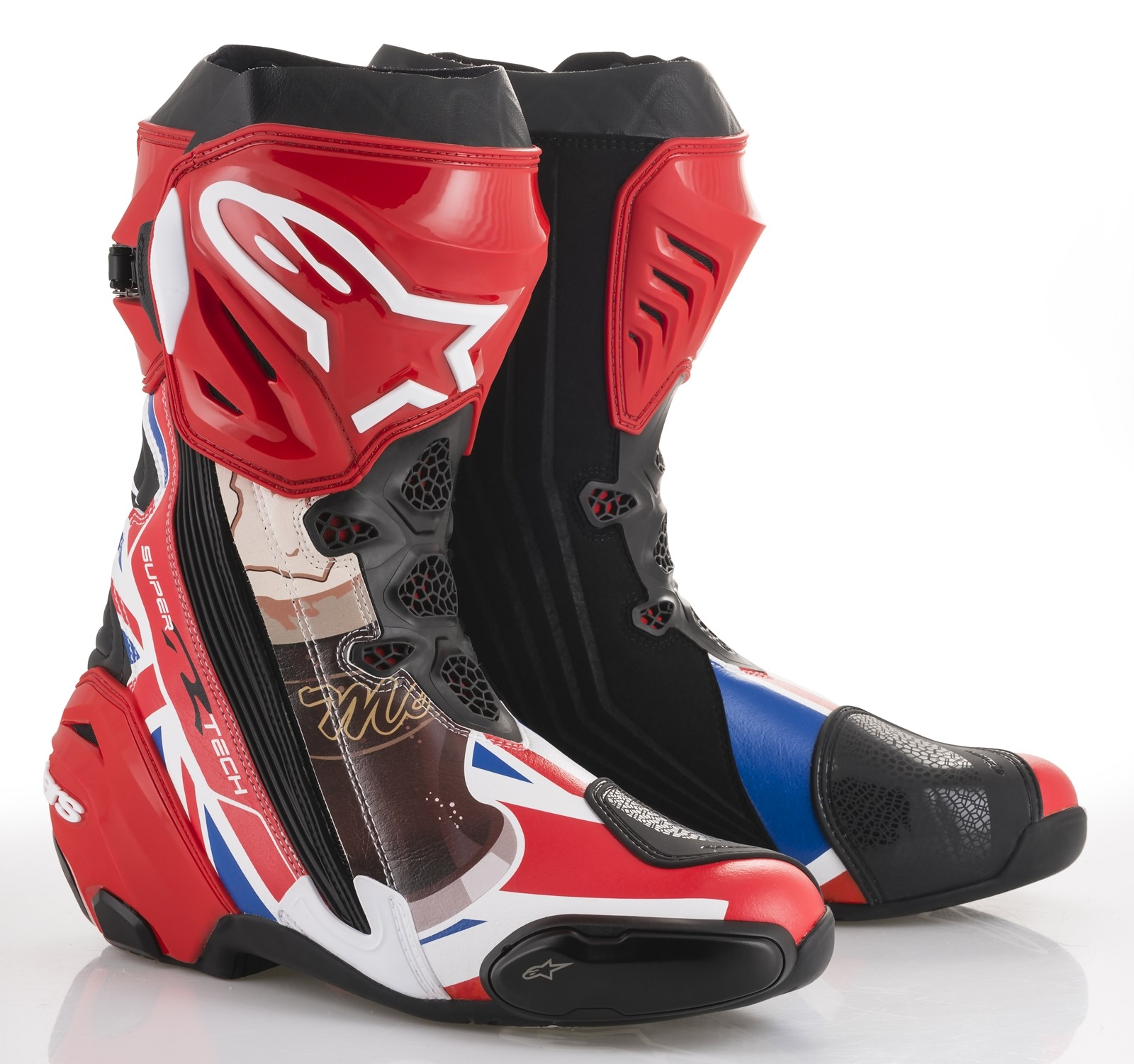 Foto de Alpinestars John McGuinness Limited Edition Supertech R 2018 (6/11)