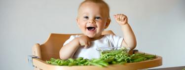 Verduras en la alimentación infantil: guisantes y judías verdes