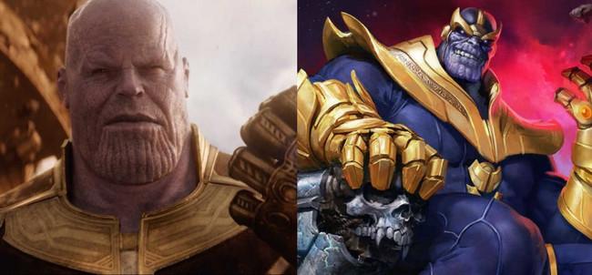 Thanos Comic movie