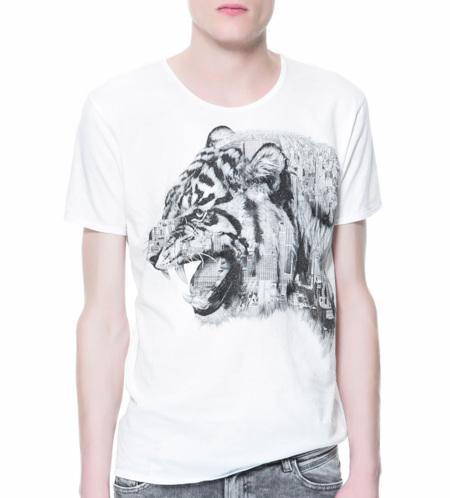 camiseta tigre Zara 2