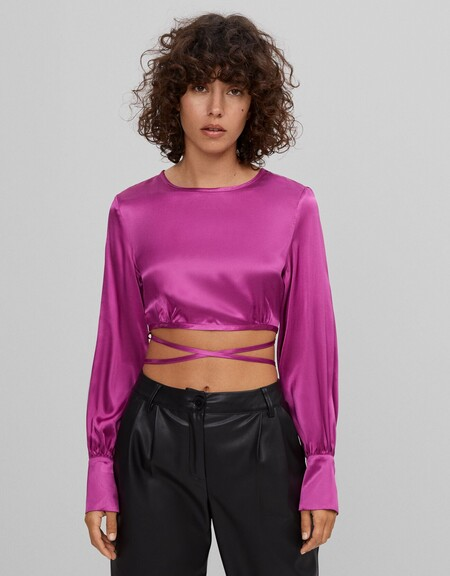 Cropped Top Rebajas Bershka 2020 08
