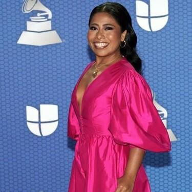 Los seis vestidos con los que Yalitza Aparicio presentó los Grammy Latinos 2020 son todos de diseñadores sudamericanos