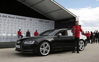 Los jugadores del Real Madrid y el F.C Barcelona ya tienen sus nuevos Audi