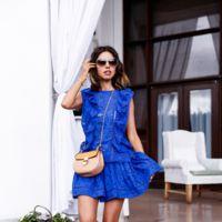 Definitivamente, el azul del mar es el color favorito para nuestros vestidos