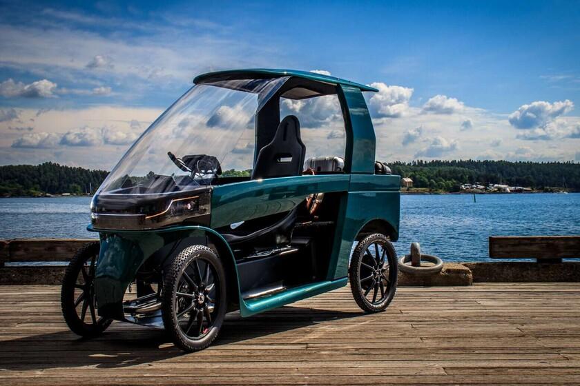 El CityQ es como un coche eléctrico de rango extendido, homologado como bicicleta eléctrica y alimentado a pedales