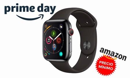 Amazon nos deja el Apple Watch Series 4 con LTE a su precio más bajo hasta la fecha. Ahora lo tenemos por 369,99 euros por el Prime Day