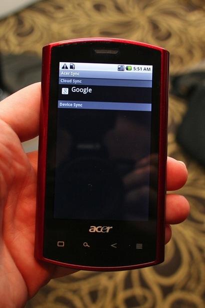 Foto de Acer Liquid, galería de imágenes decente (2/30)