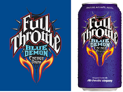 Full Throttle Blue Demon