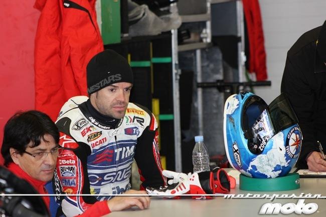 Carlos Checa en Jerez