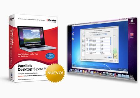 Parallels Desktop 5 par Mac, nueva versión mejorada