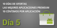Quinto día de ofertas en el Market con aplicaciones a 0.10€