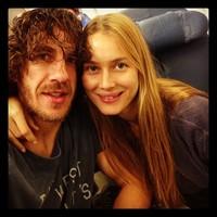 Carles Puyol y Vanesa Lorenzo, vaya par de tortolitos estáis hechos