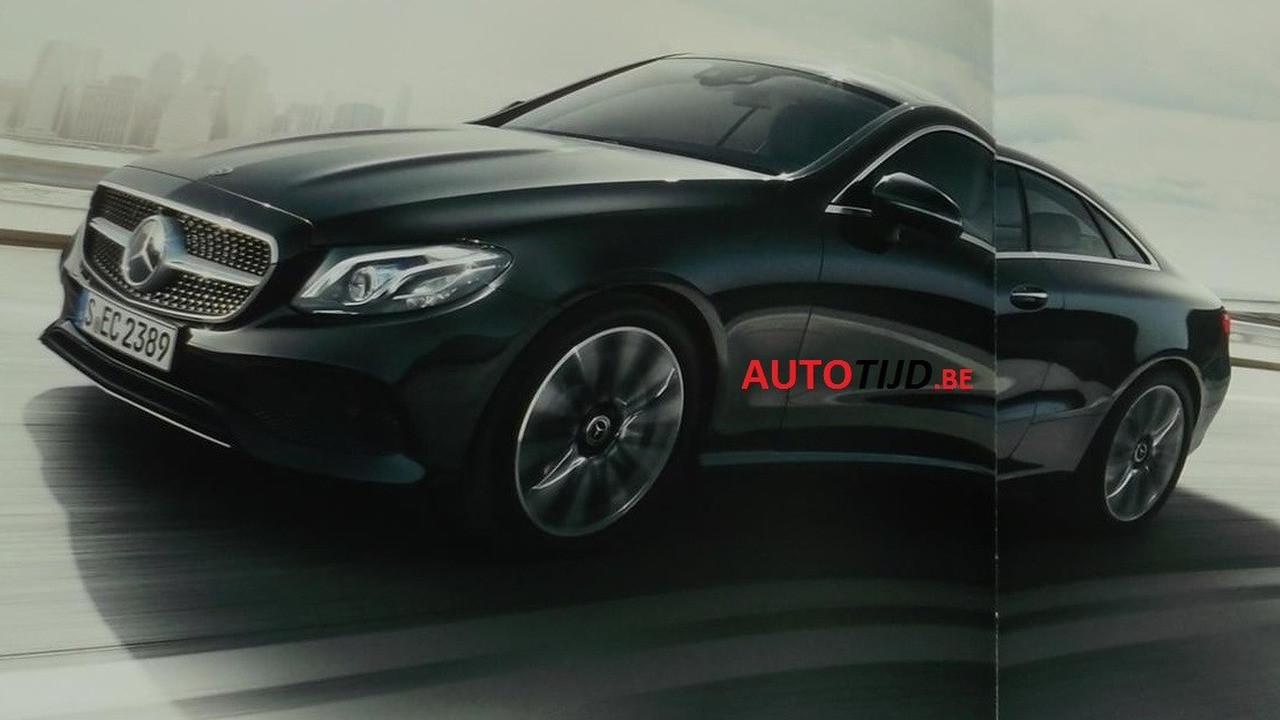 Foto de Mercedes-Benz Clase E Coupe 2018 (filtraciones) (4/11)