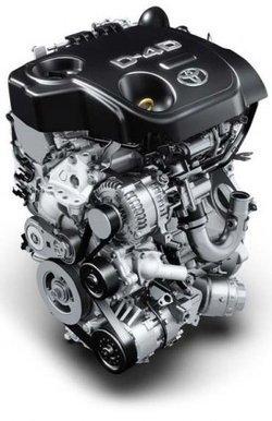 Motor D-4D Toyota