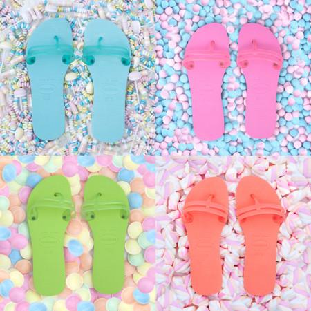 Flat Gum Candy Colors