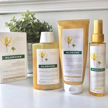 Probamos la gama Ylang-Ylang de Klorane para recuperar el brillo del pelo después del verano