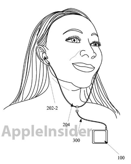 Auriculares inalámbricos de Apple en una patente