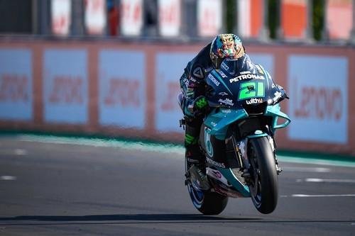 Franco Morbidelli se estrena en MotoGP, Andrea Dovizioso es el nuevo líder y Fabio Quartararo se cae dos veces