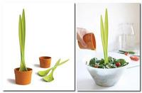 La planta de la ensalada